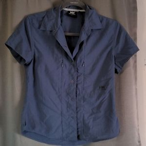 Helly Hanson snap down shirt size small